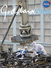 Goddard View cover - JWST mirror assembly