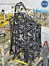Goddard View cover - James Webb Backplane structure