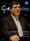 image of Chris Scolese on cover of Goddard View