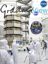 Goddard View cover - four MMS spacecraft in clean room