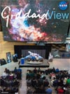 Goddard View cover - Hubble 25th anniversary image unveiled at Newseum
