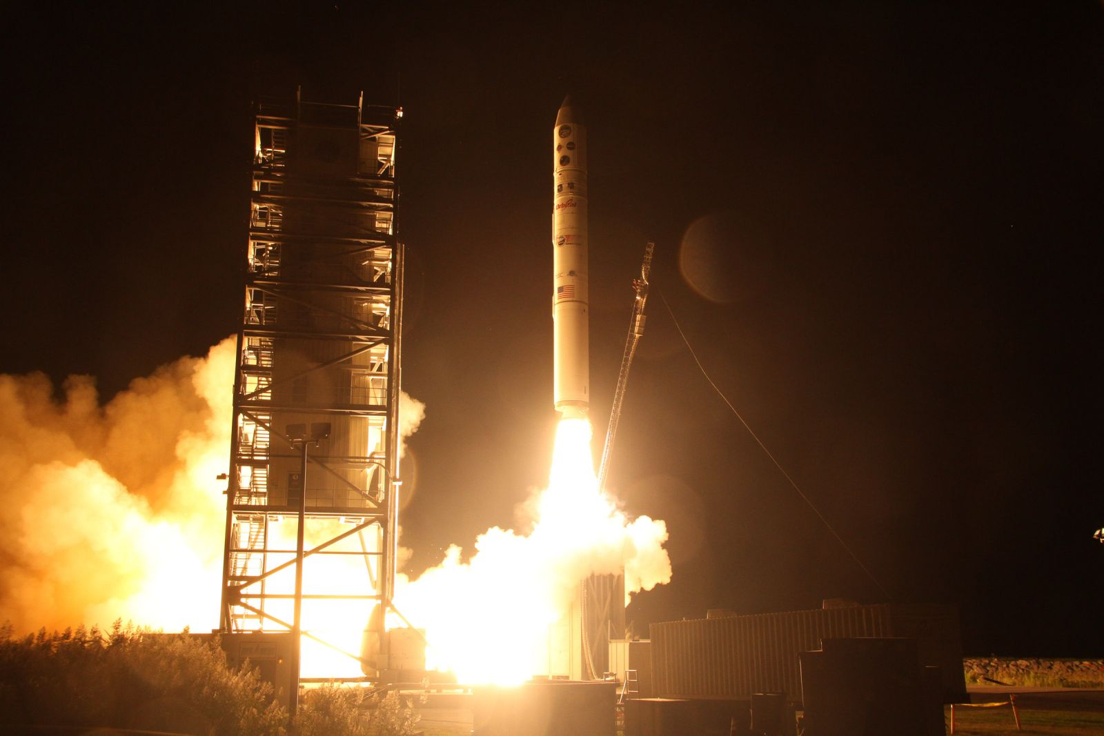 Minotaur V rocket that will launch NASA's LADEE mission