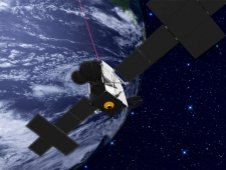 Artist Concept of Laser Communications Relay Demonstration