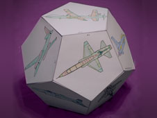 Airplane dodecahedron