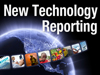 new technology reporting icon globe