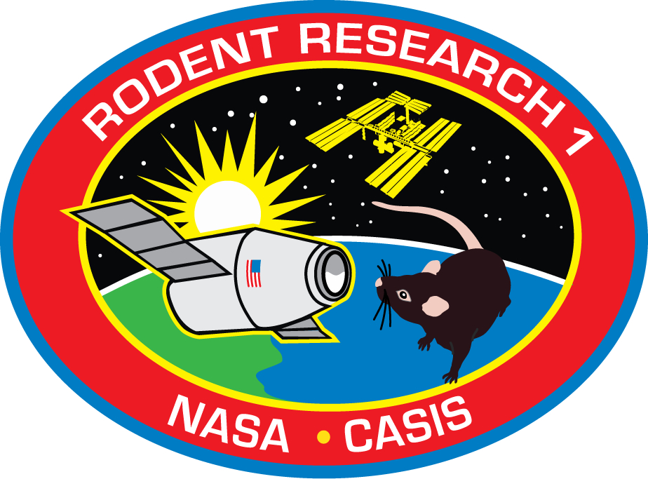 rodent research logo nasa -#main