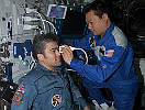 Eye checkup at ISS.