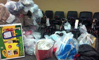"Marshall's Office of Strategic Analysis & Communications also ""adopted"" 15 children and nine seniors as part of the Salvation Army's ""Angel Tree"" campaign."