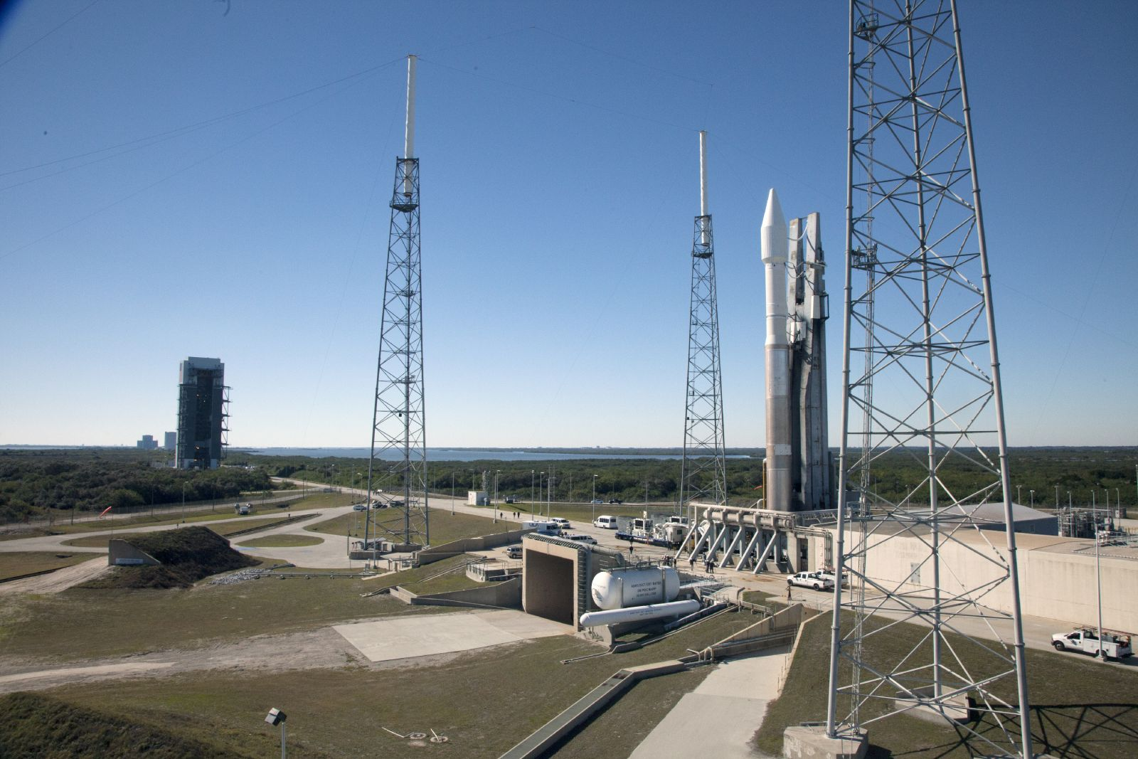 Atlas V rocket at Launch Complex 41