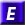 E in a blue block denoting Engineering standards
