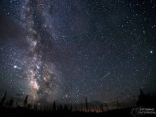 Delta Aquarids meteor shower. Copyright Jeff Berkes. Used with permission, all rights reserved.