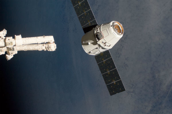 SpaceX Dragon commercial crew spacecraft