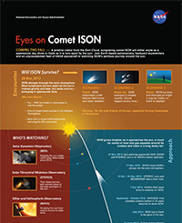 Eyes on Comet ISON