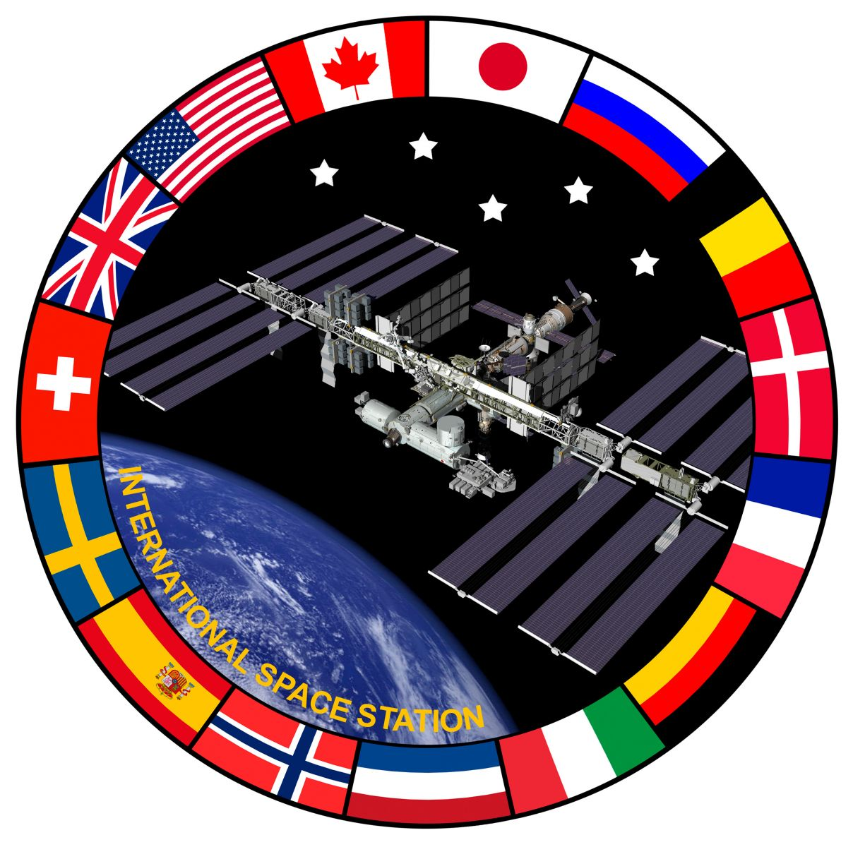International Space Station (ISS) insignia - collectSPACE ...