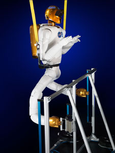 Robonaut with legs