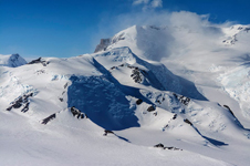 A view of Mount Murphy in Antarctica's Marie Byrd Land seen on the Nov. 7, 2014.