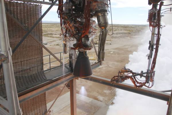 Blue Origin Test