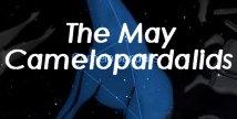 Graphic for May Camelopardalids meteor shower