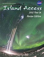 Cover of WFF 2015 Review issue of Island Access