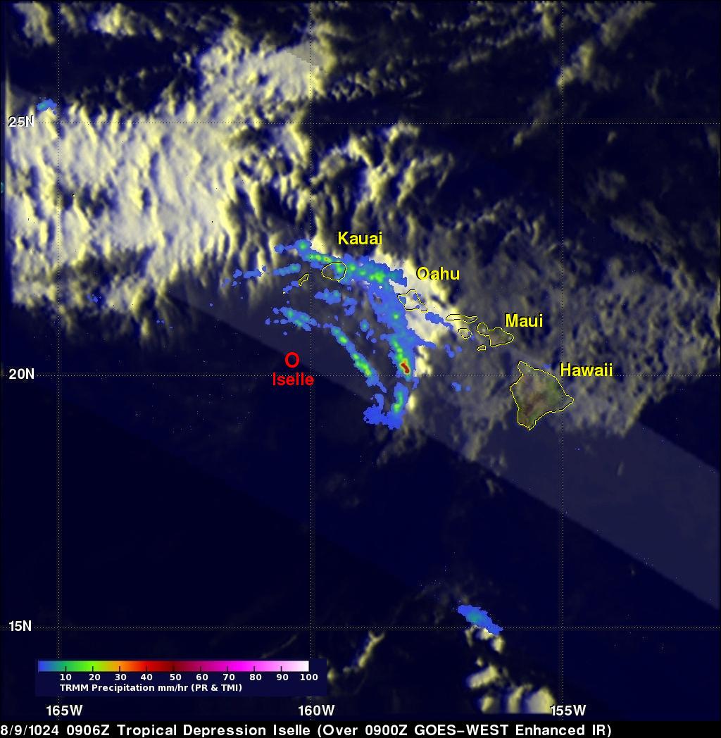Iselle (Eastern Pacific Ocean) | NASA