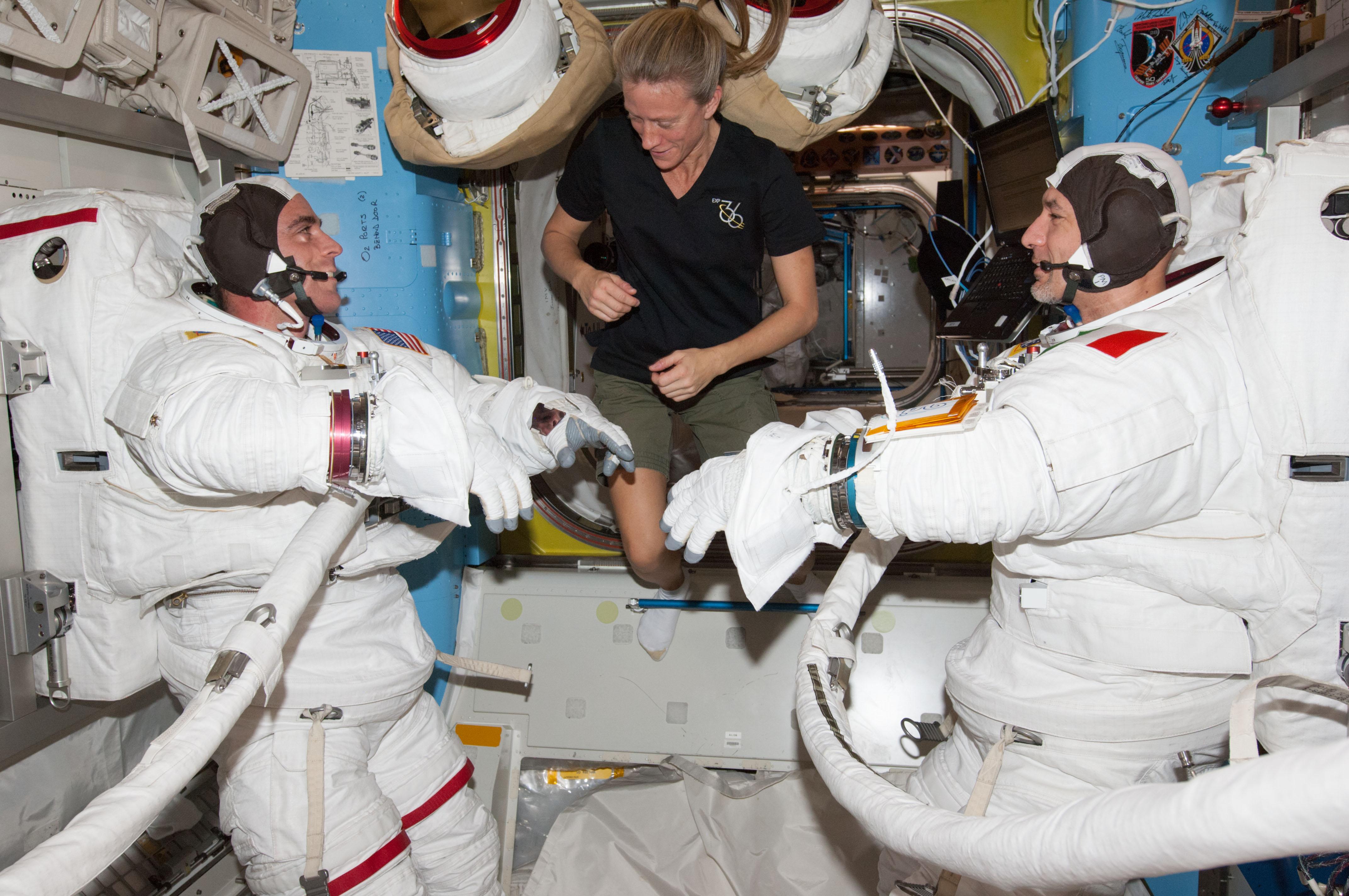 Station Astronauts Prep for U.S. Spacewalk | NASA
