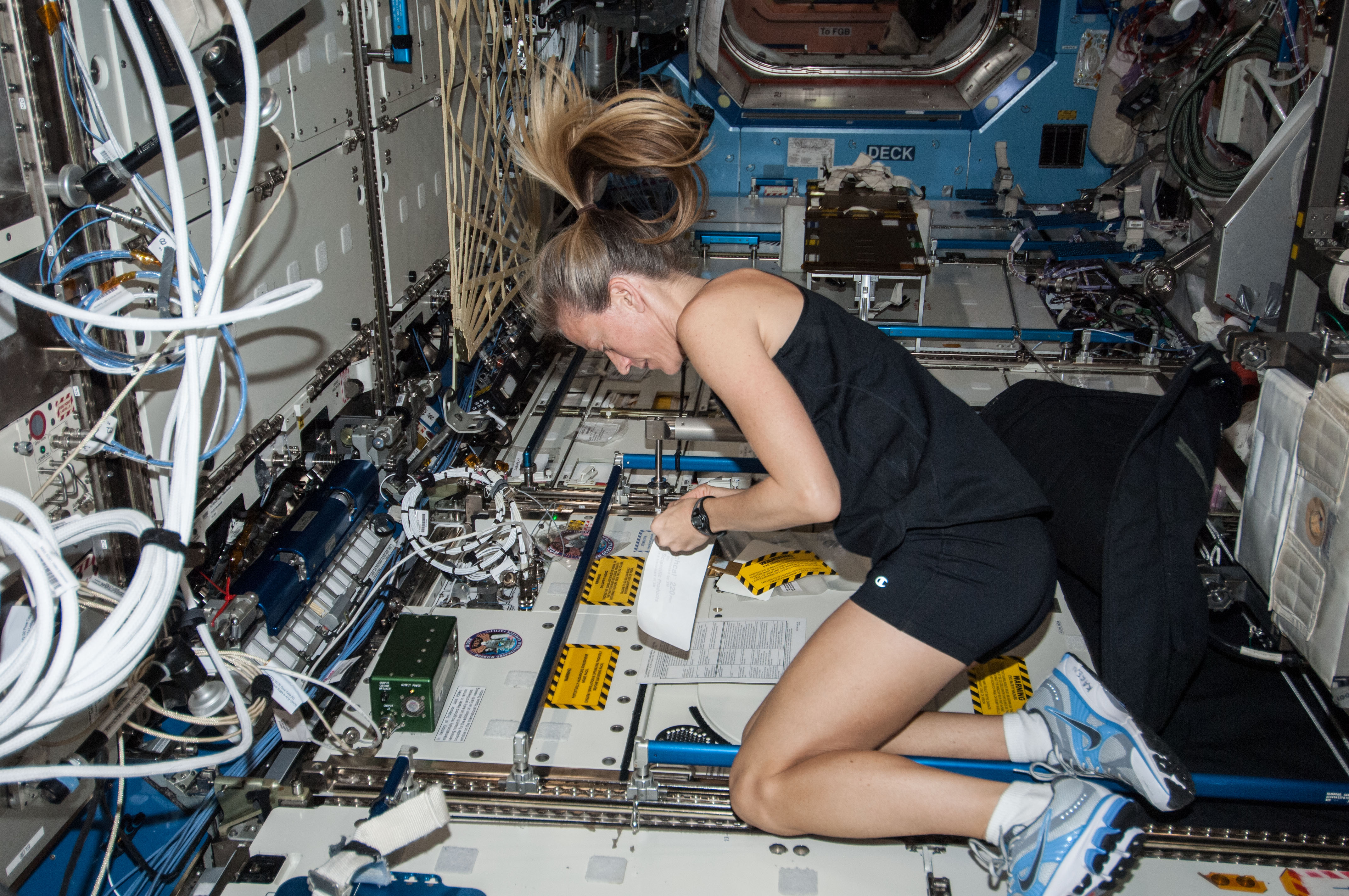inside space station bed - photo #45