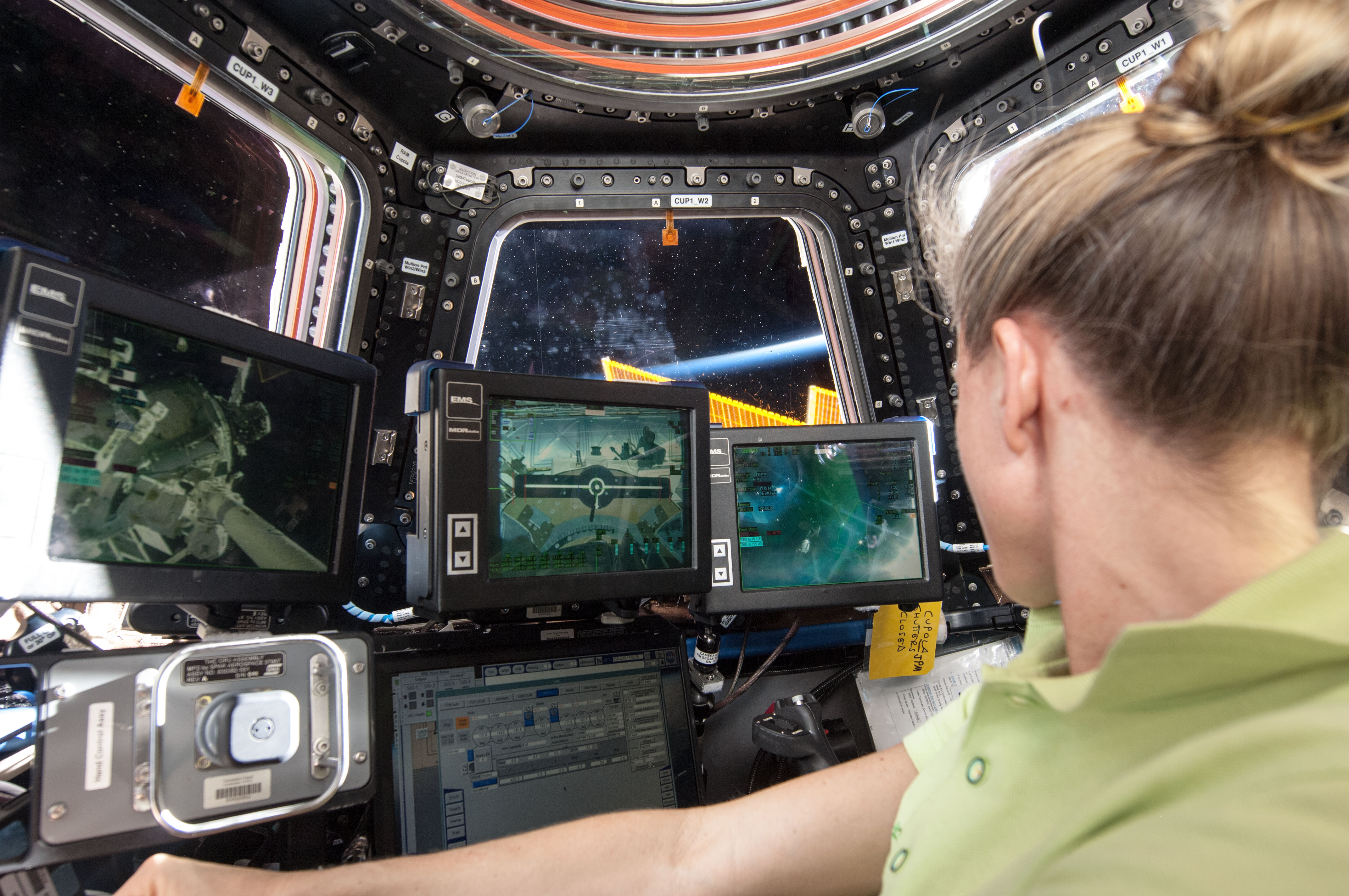 Robotics Workstation In The International Space Station S