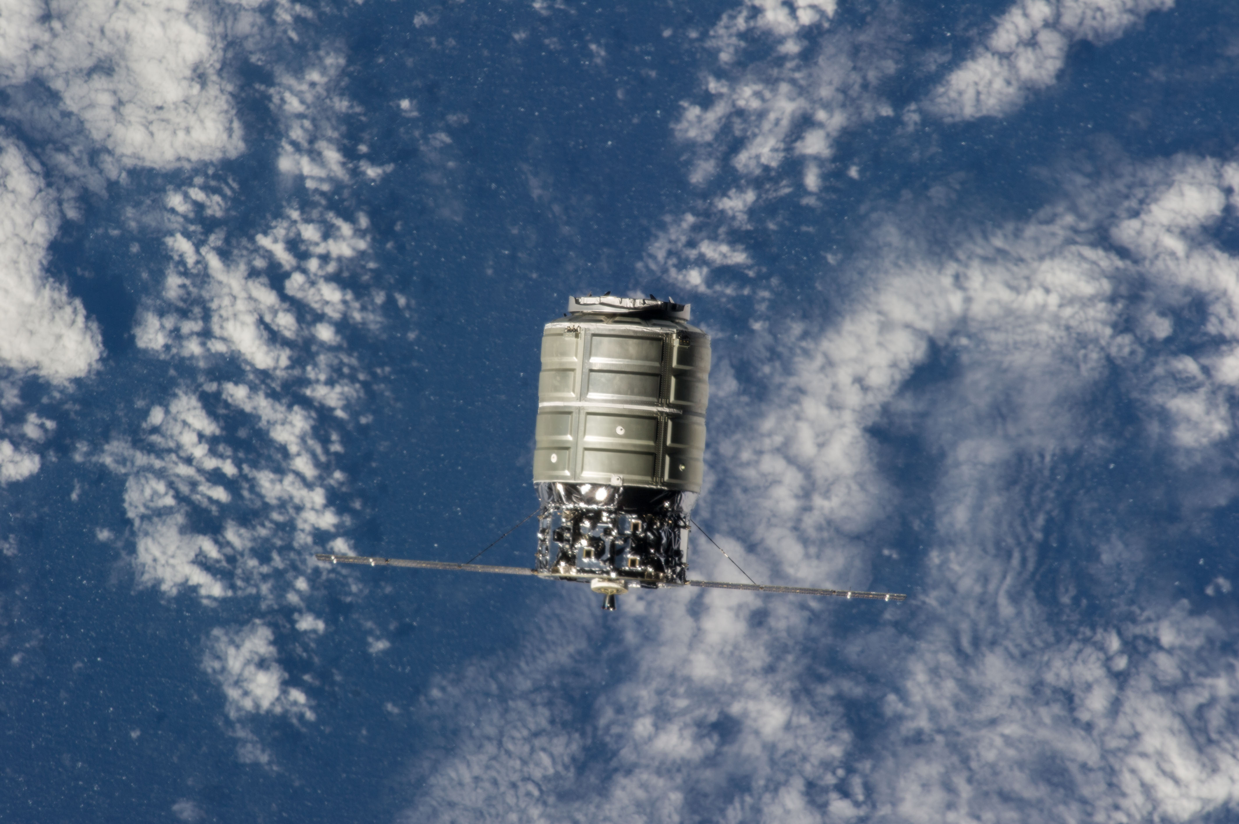 The First Cygnus Commercial Cargo Spacecraft | NASA