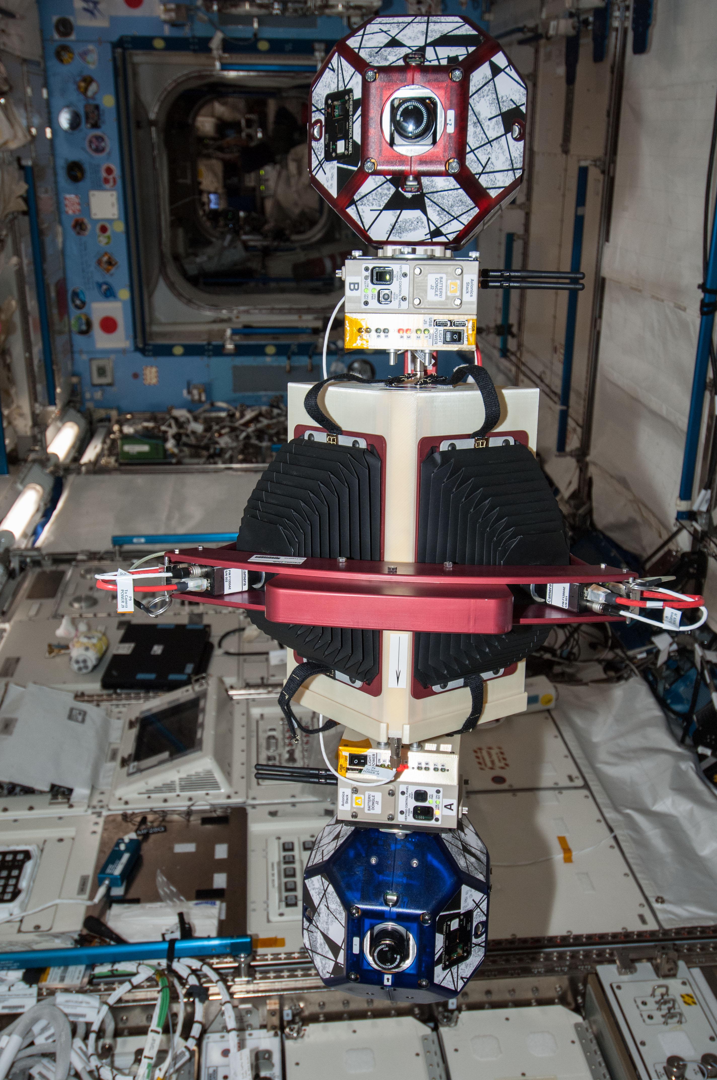 SPHERES-Slosh Experiment   NASA