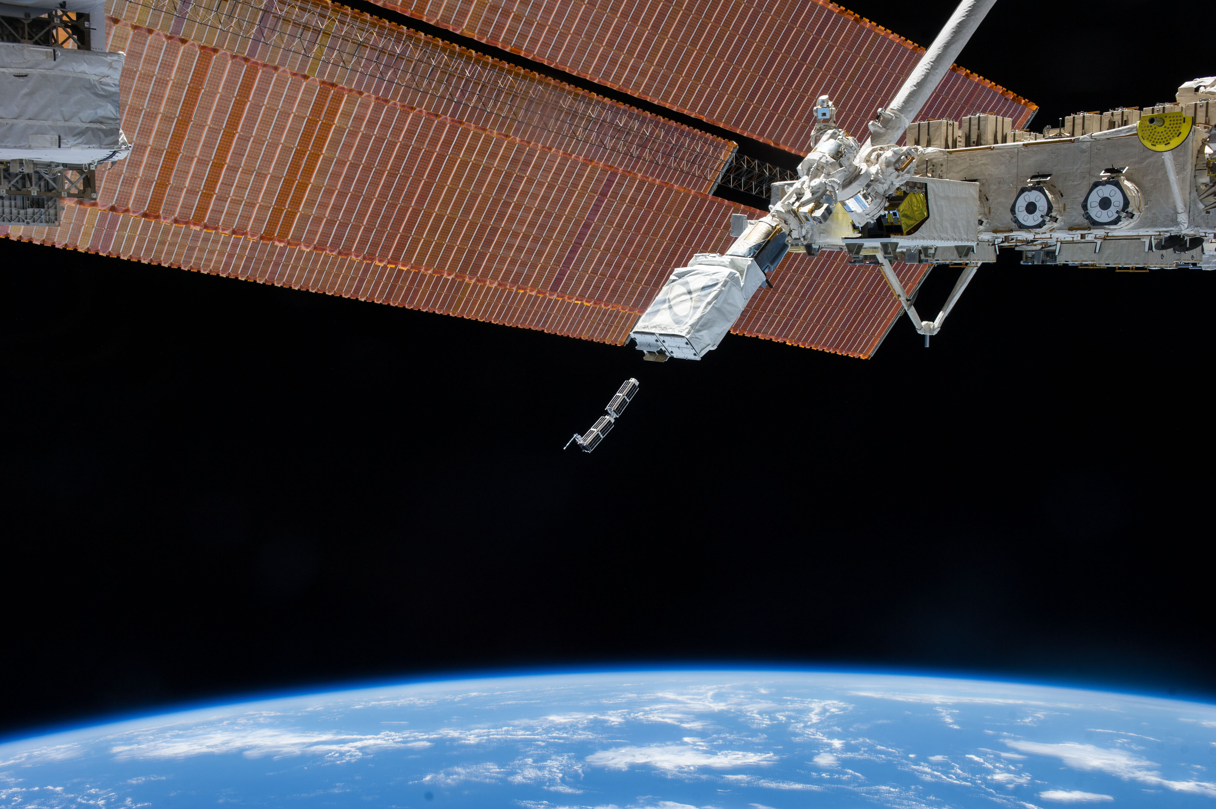 When Doves Fly: Swarm Of Tiny Satellites Shot From Space ...