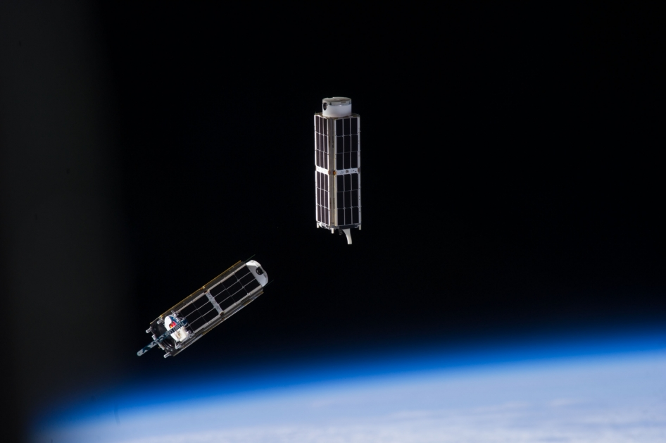 2 Cubesats in orbit