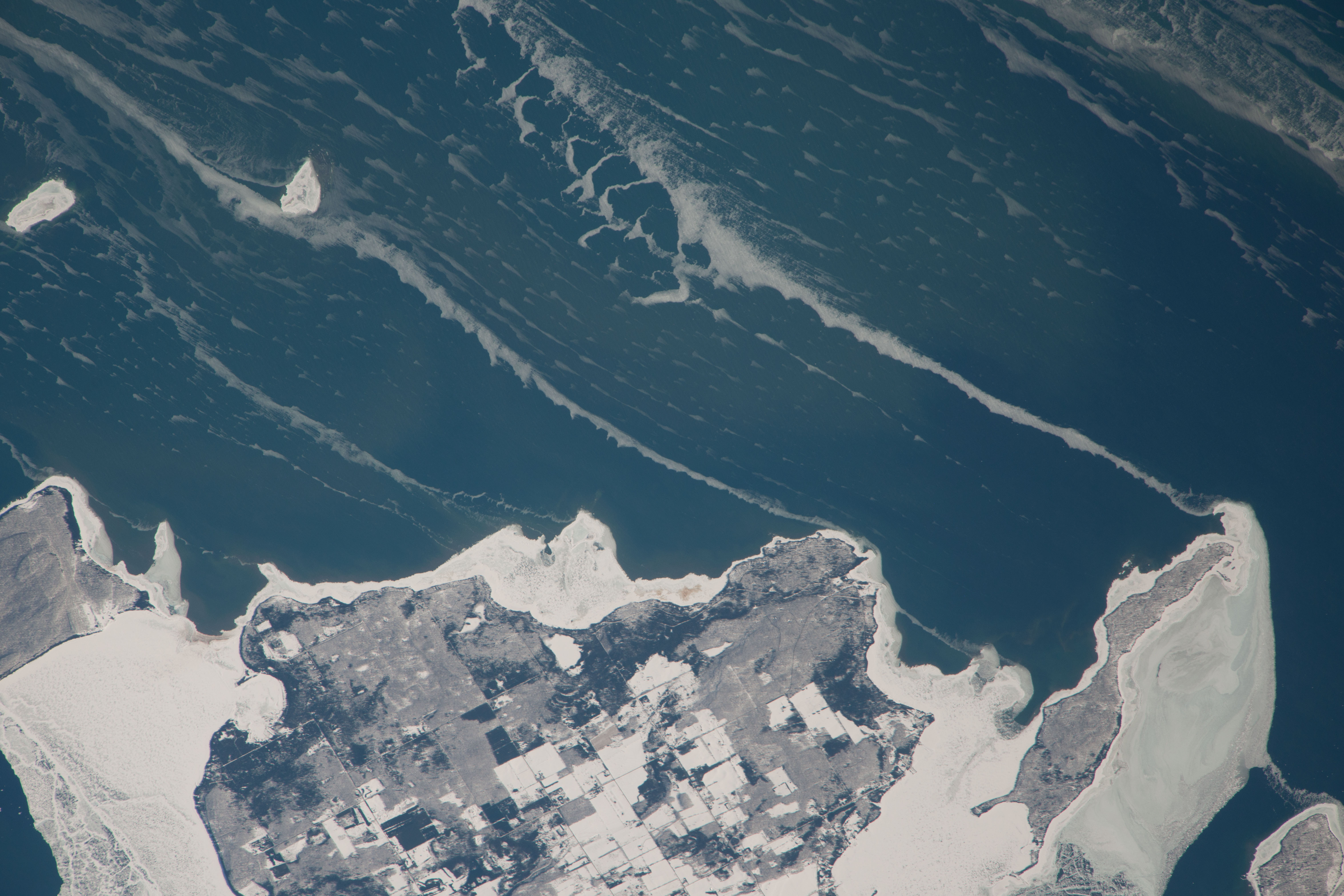 Washington Island on Lake Michigan | NASA