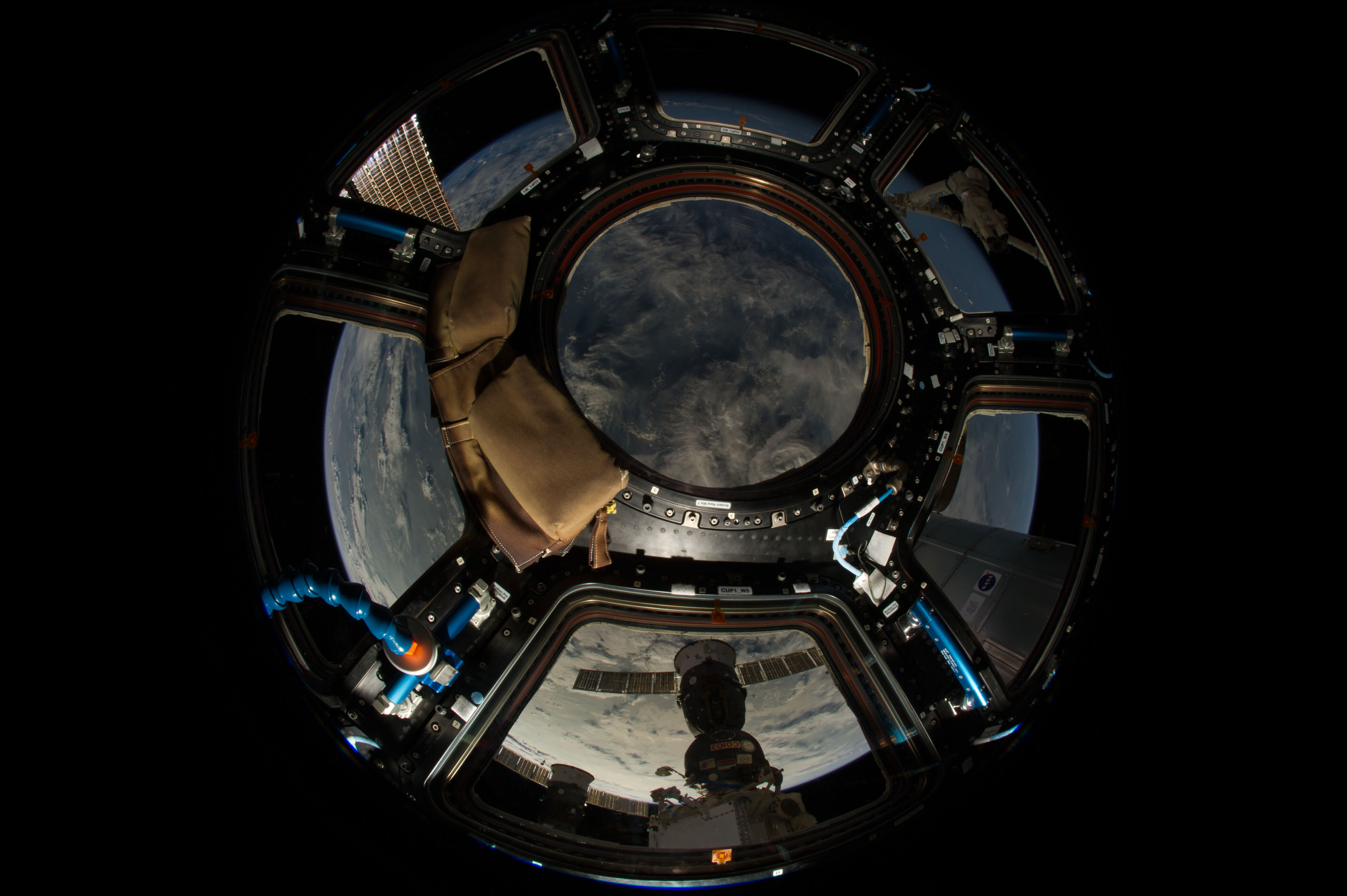 The View From Station S Cupola Nasa