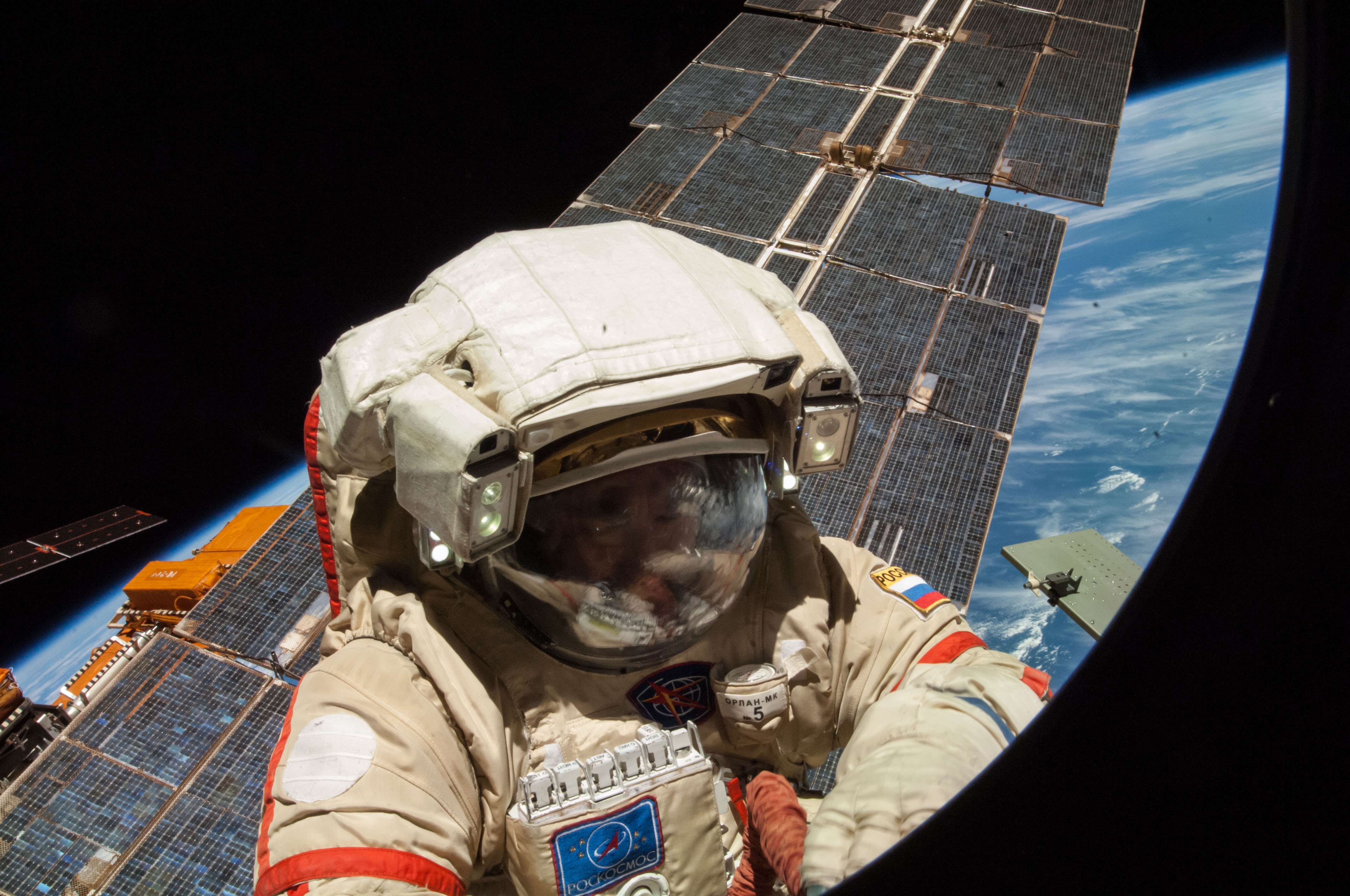 russian astronaut in space - photo #15