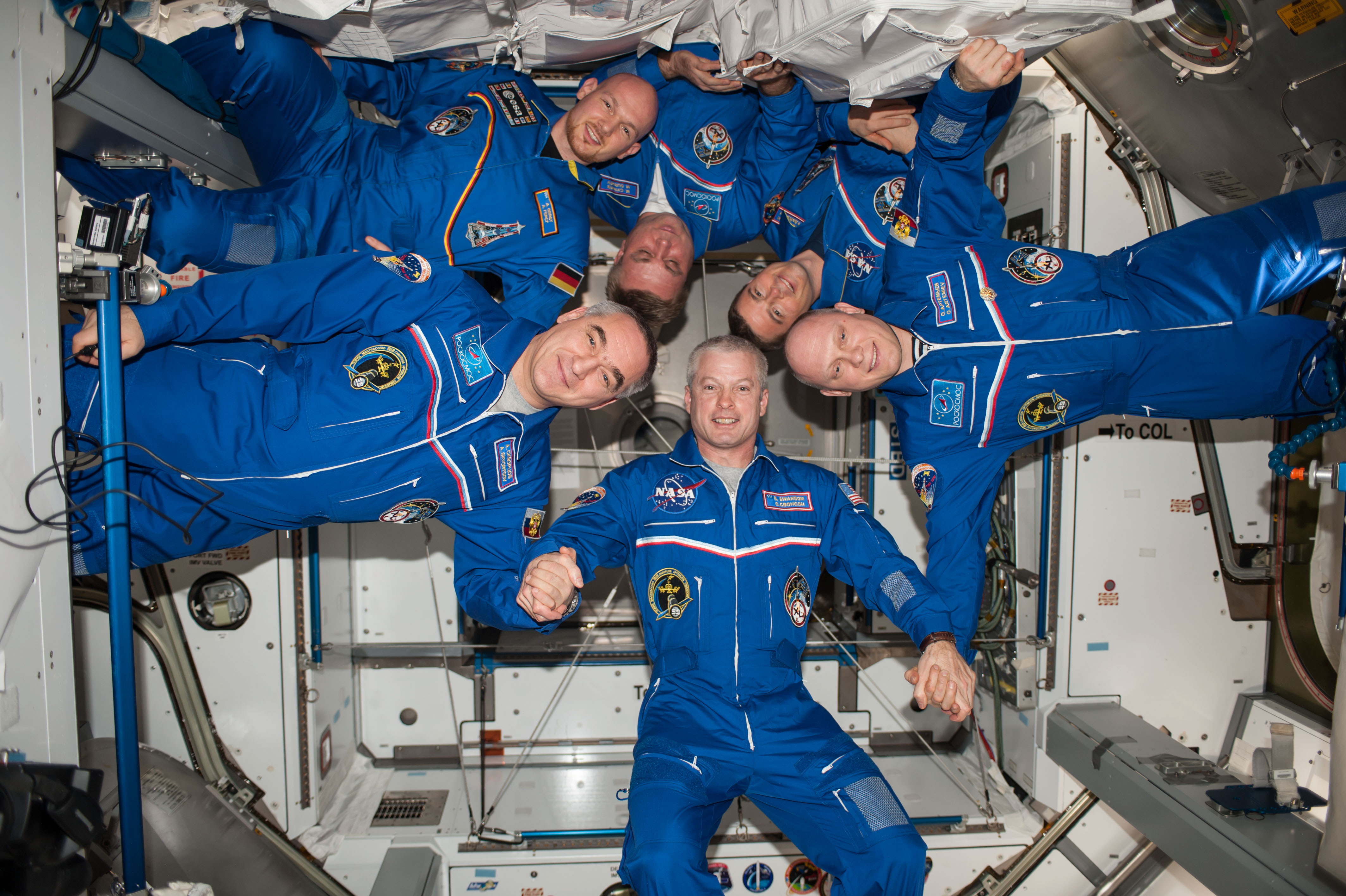 astronaut crews of the international space station role - photo #43
