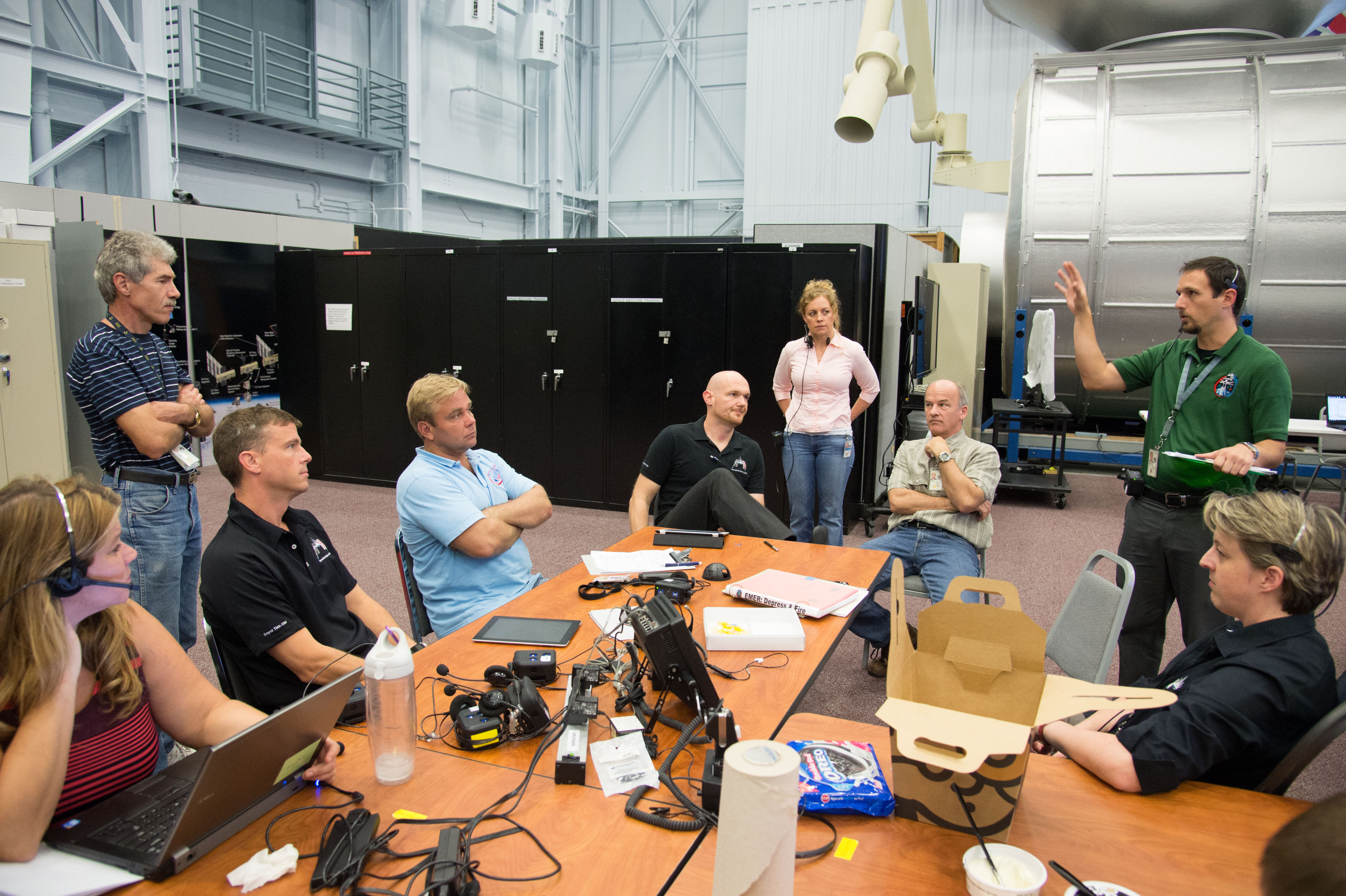 Expedition 40/41 Crew Members and Training Personnel | NASA