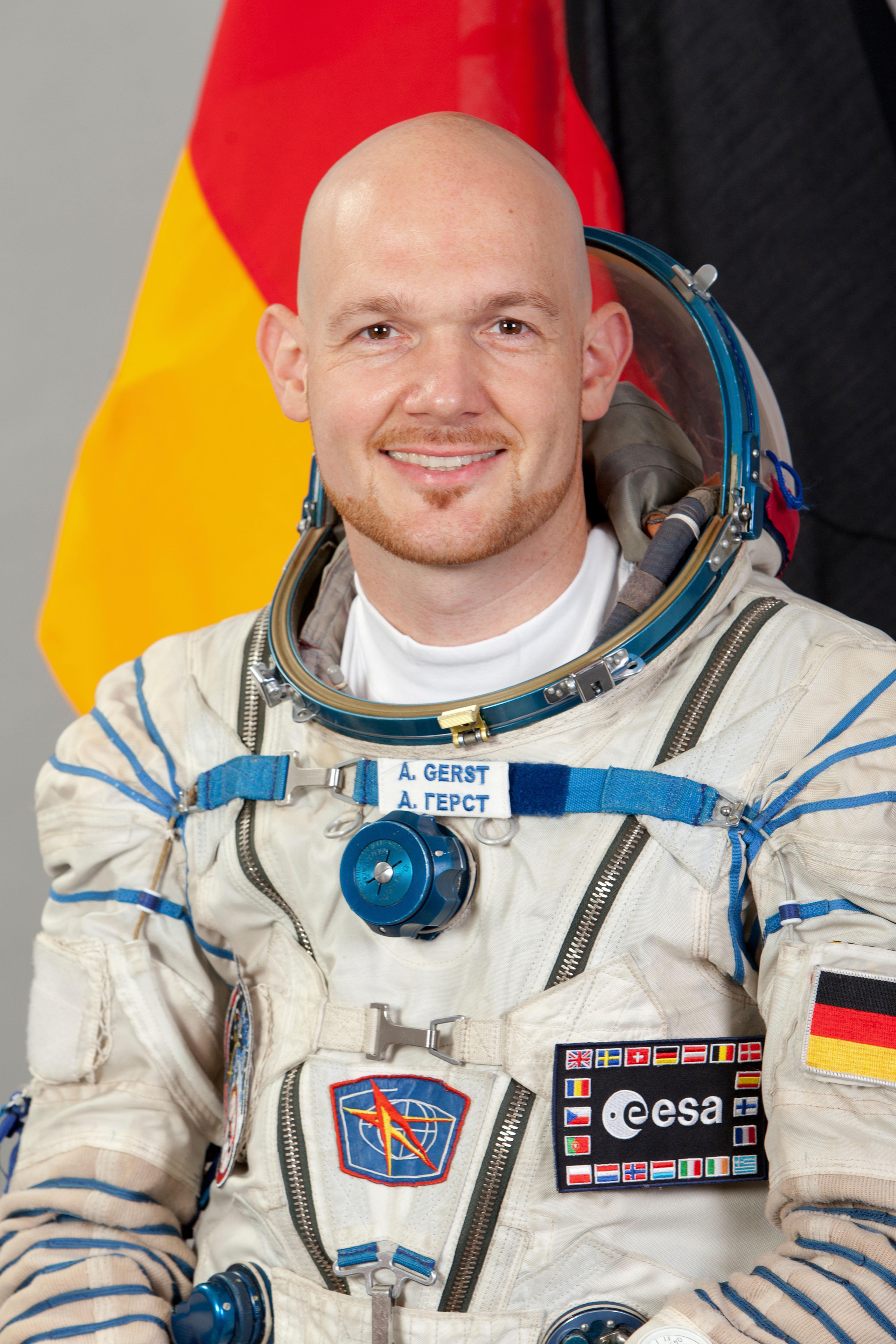 European Space Agency Astronaut Alexander Gerst