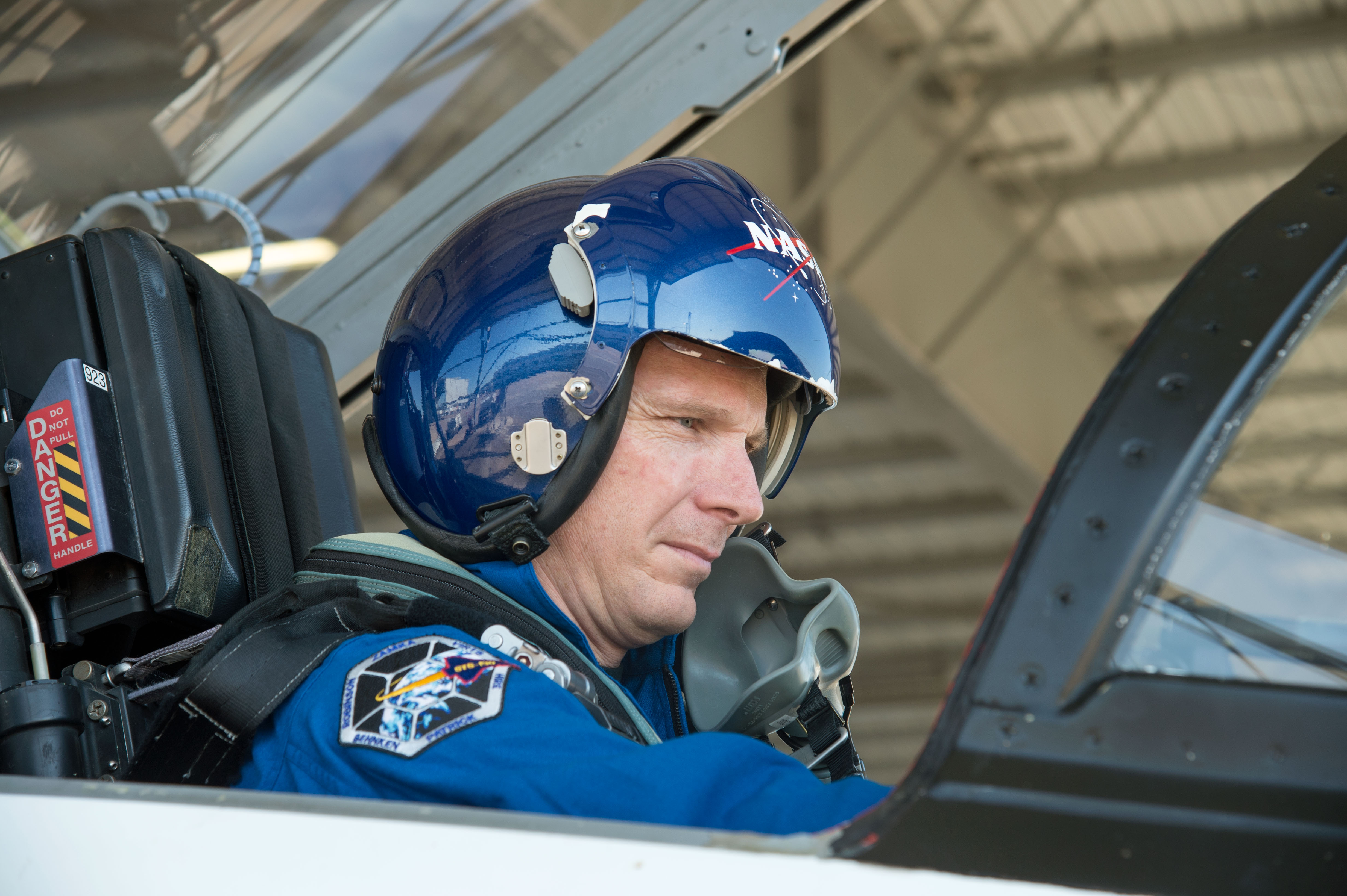 Terry Virts Prepares for a Flight in a NASA T-38 Trainer ...