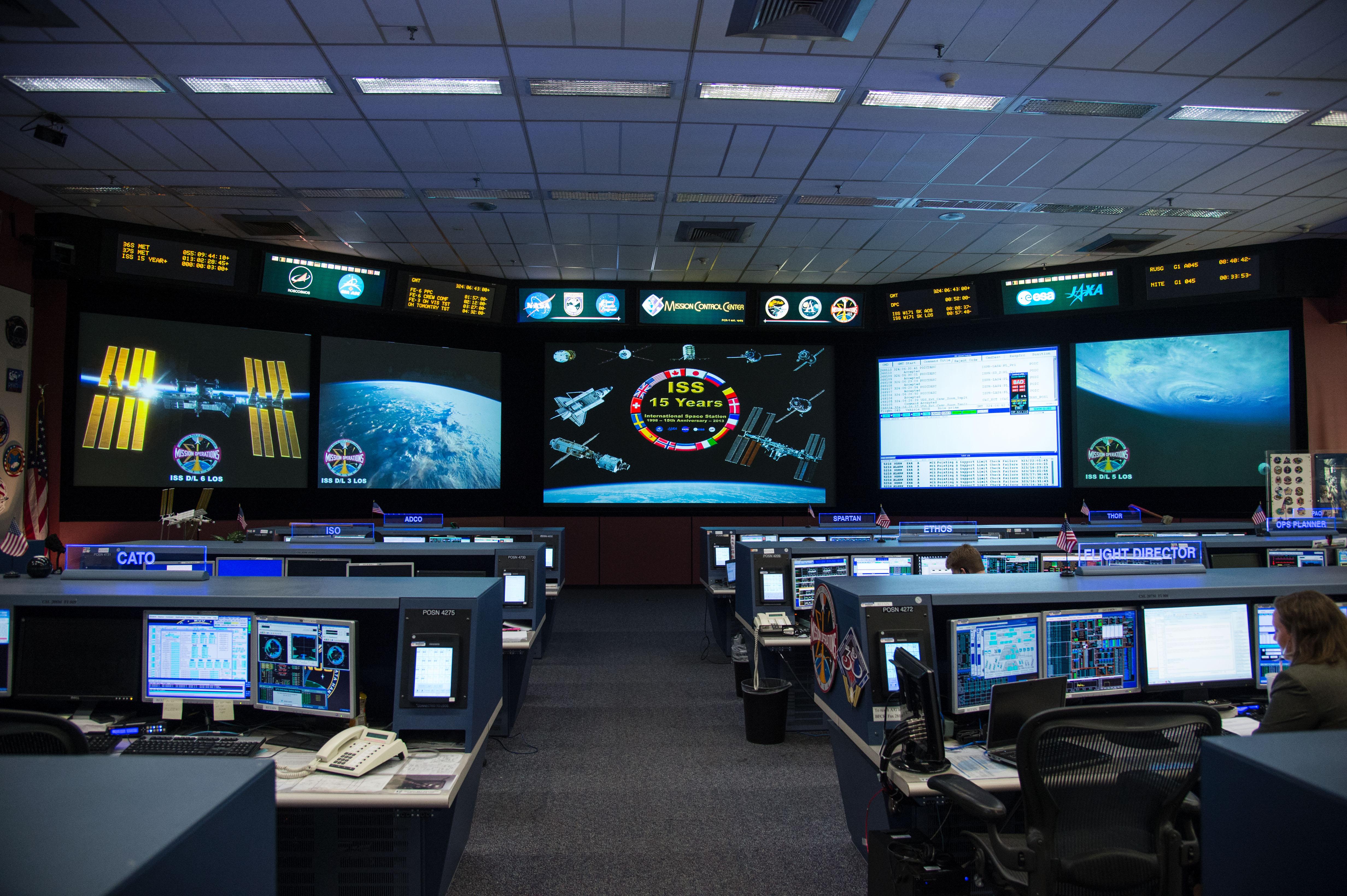 Space Station Flight Control Room | NASA