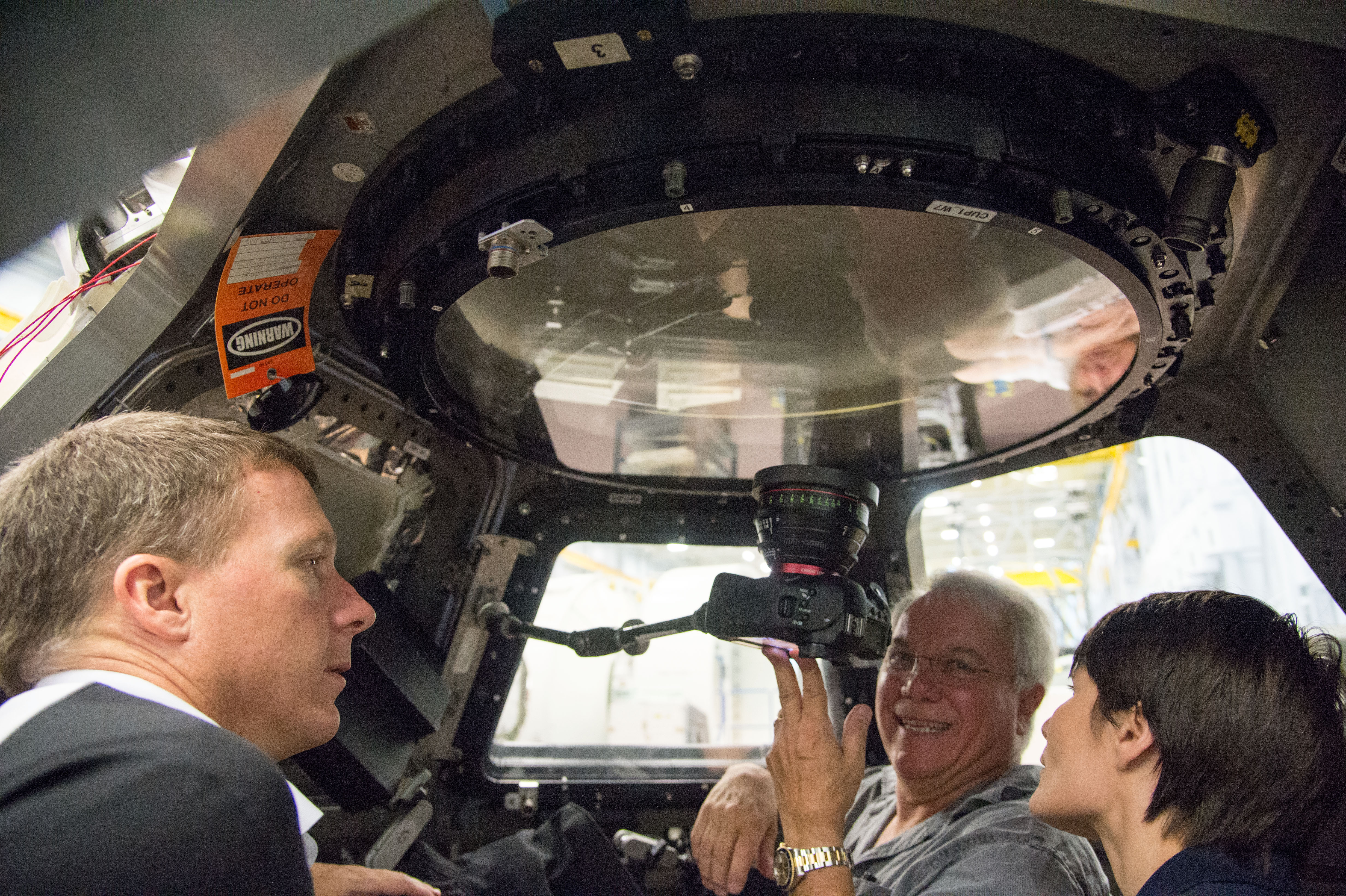 IMAX Cinematography Training for Expedition 42 Crew | NASA