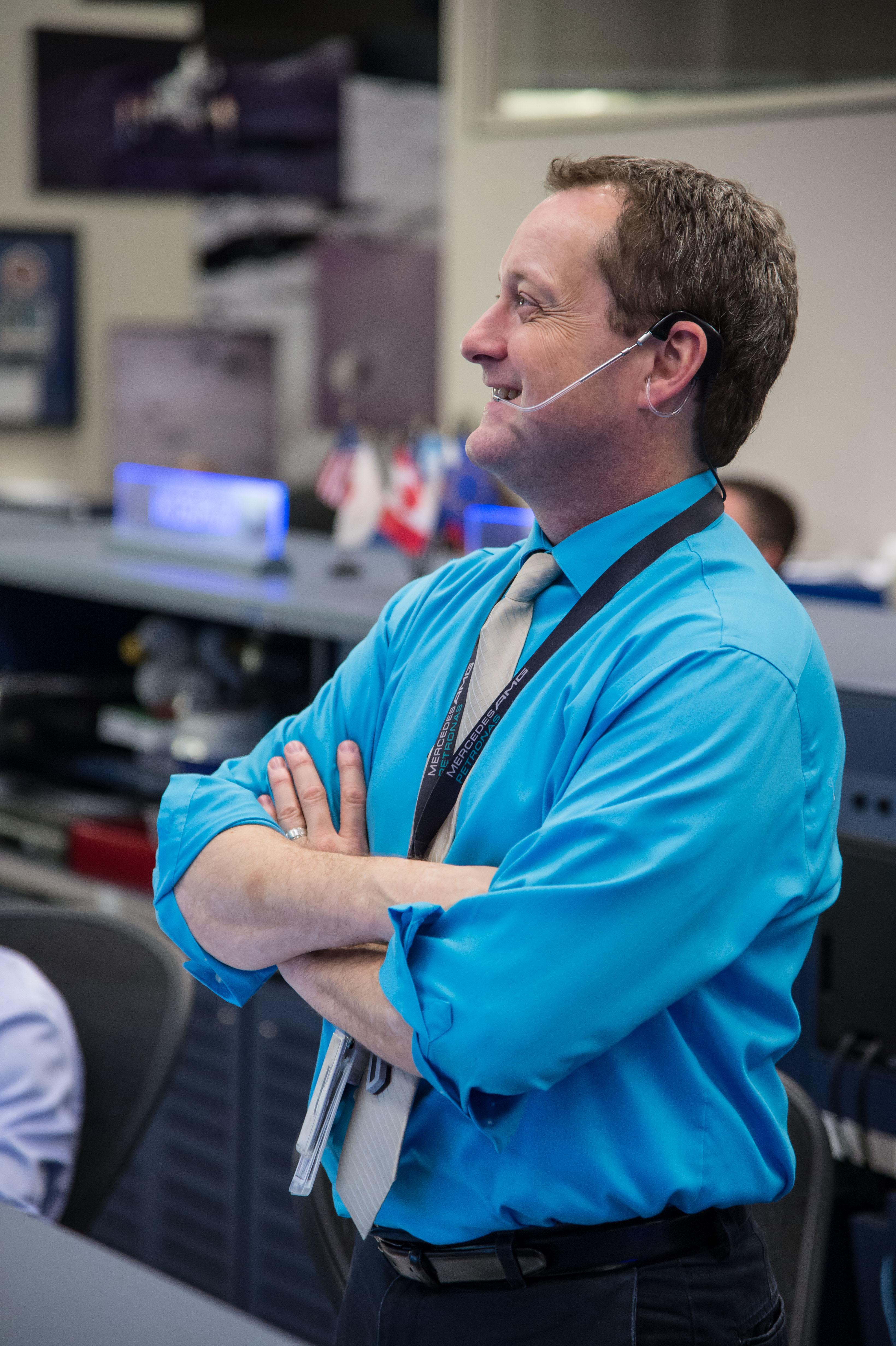 Flight Director Matt Abbott Supports Soyuz Undocking | NASA