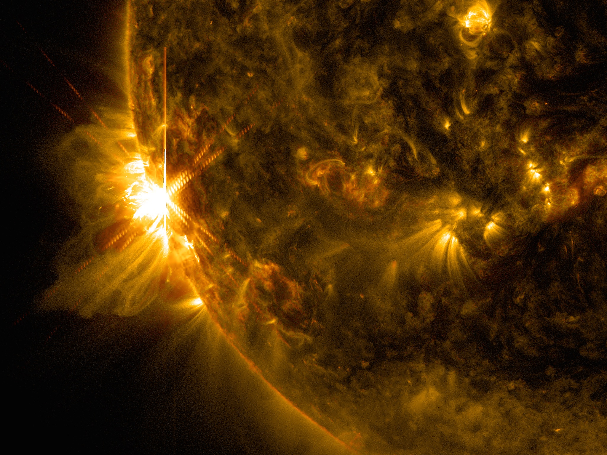Sun Emits 3 X-class Flares in 2 Days | NASA