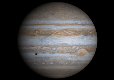 Jupiter Is Known For Its Stripes And Large Red Spot