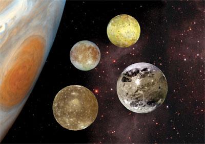 Jupiters Inner Moons  Our Solar System  Astronomy for Kids