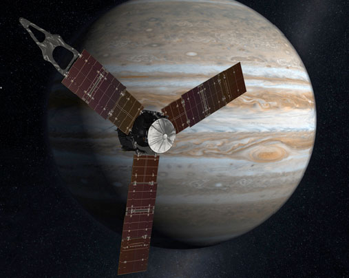NASA's Juno Spacecraft Reaches Jupiter