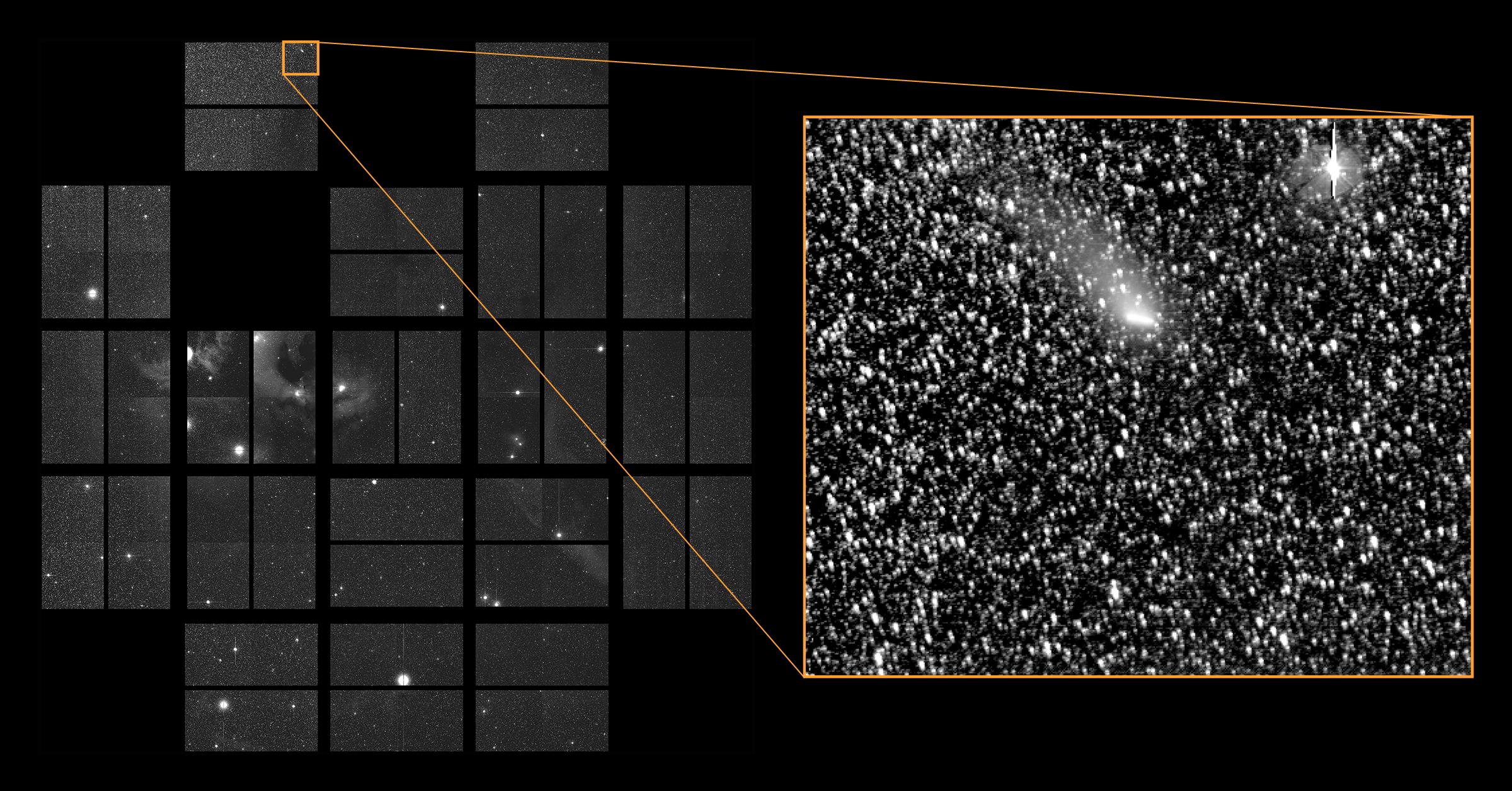 Comet Siding Spring Passes Through K2 S Field Of View Nasa