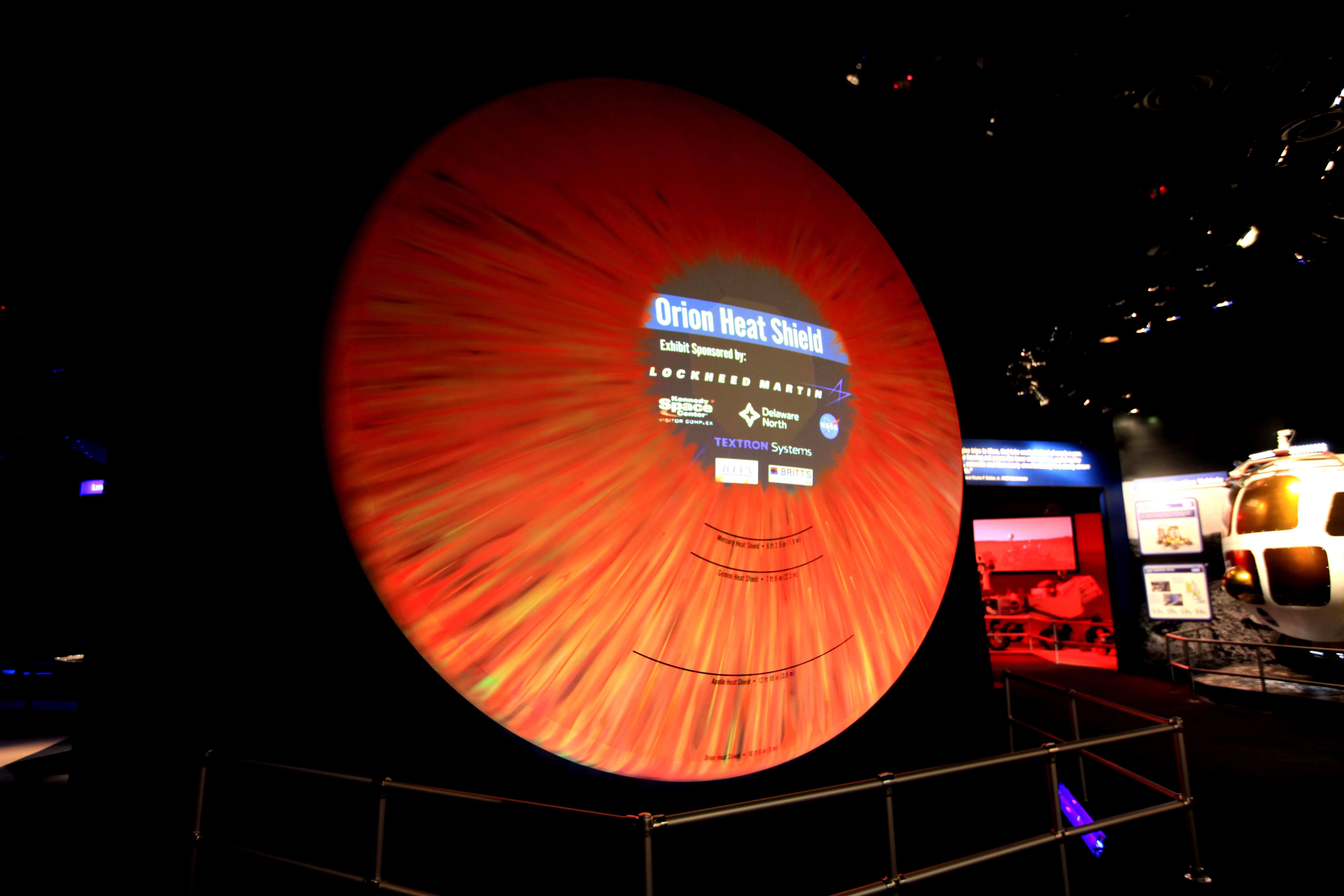 spacecraft heat shield heat - photo #11