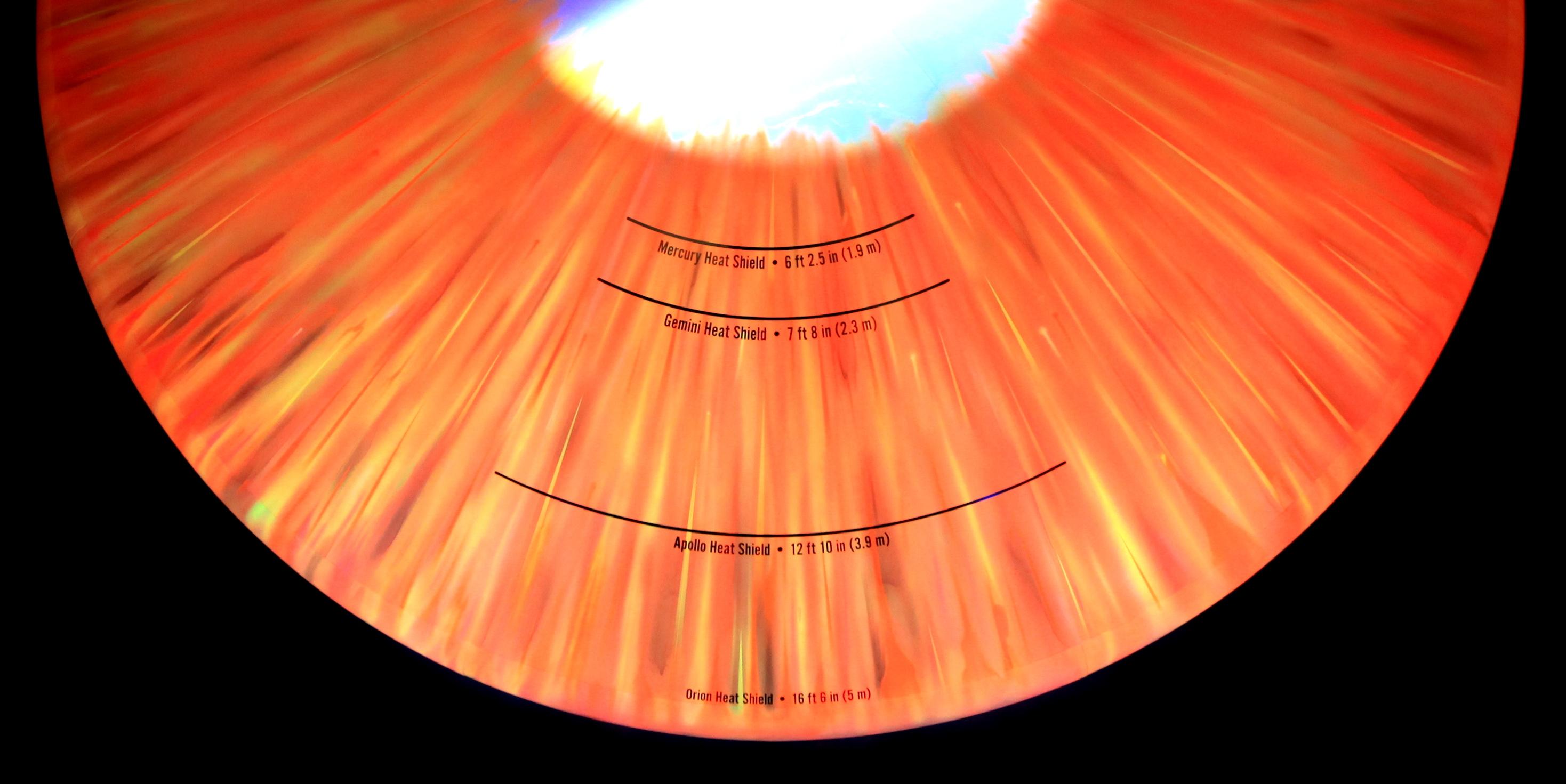 Kennedy Visitor Complex Unveils Orion Heat Shield Exhibit ...