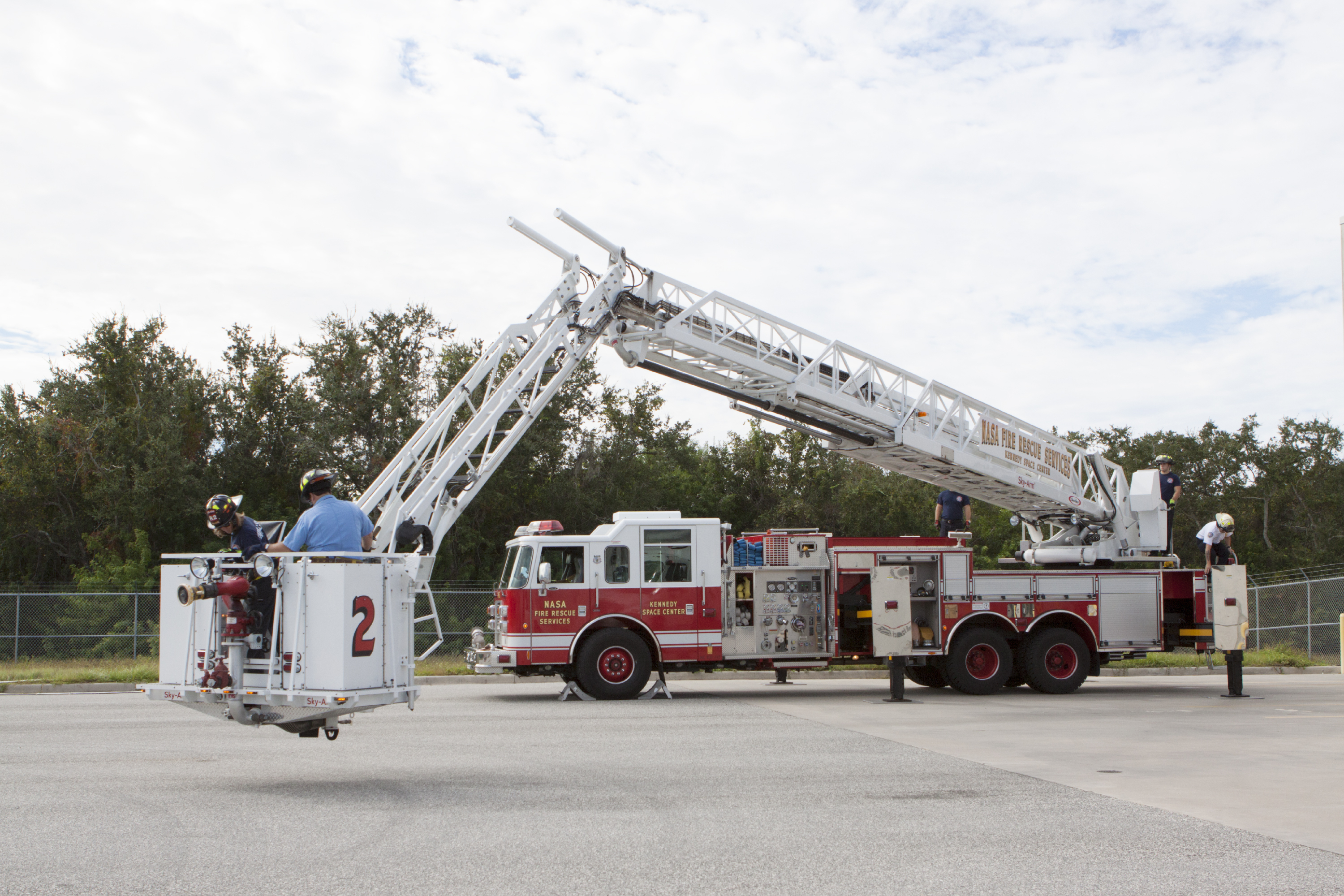 KSC Fire Rescue Services Achieves Aerial Operations ...