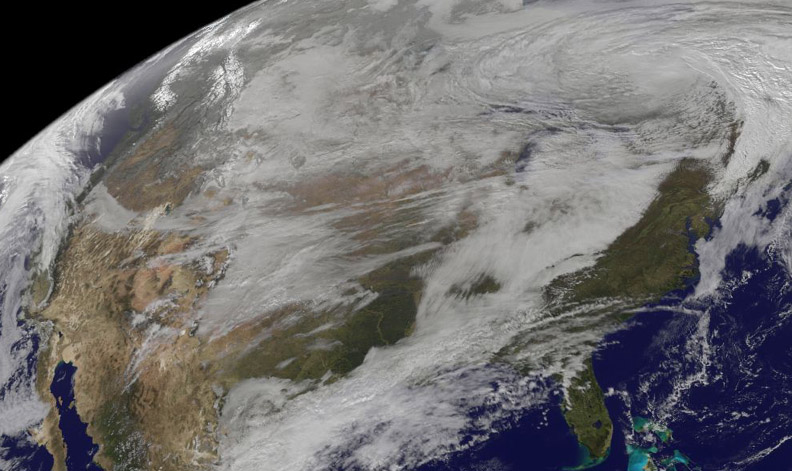 New Satellite Movie Shows U S Pre Winter Wintry Outbreak